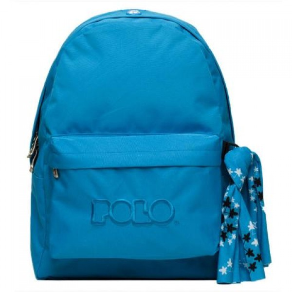 Polo - Backpack With Scarf Blue (2020)