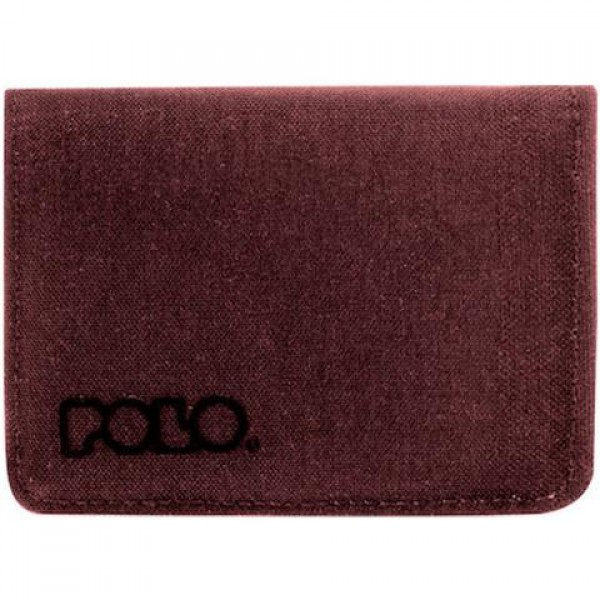 Polo - Wallet Rfid Small Red
