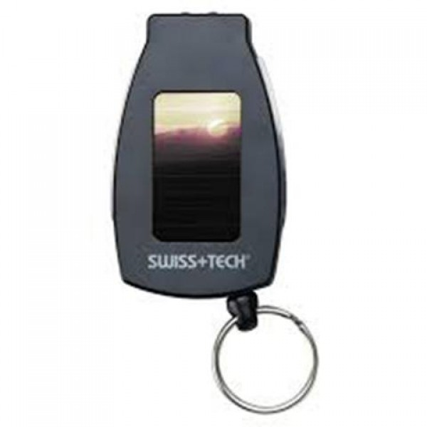 Swiss+Tech - 5-in-1 Multi-Tool with Solar Recharge...