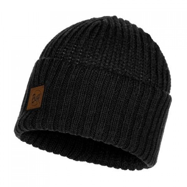 Buff - Knitted Hat Rutger Graphite